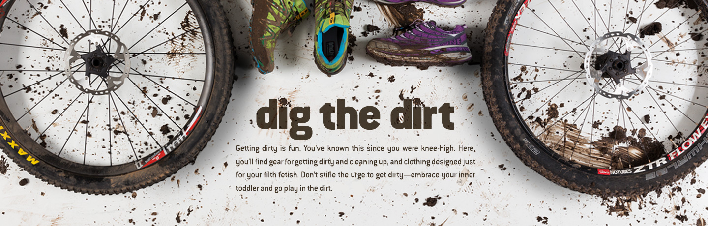 Shop our dirt collection